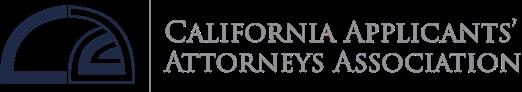 California Applicant Attorney Association logo